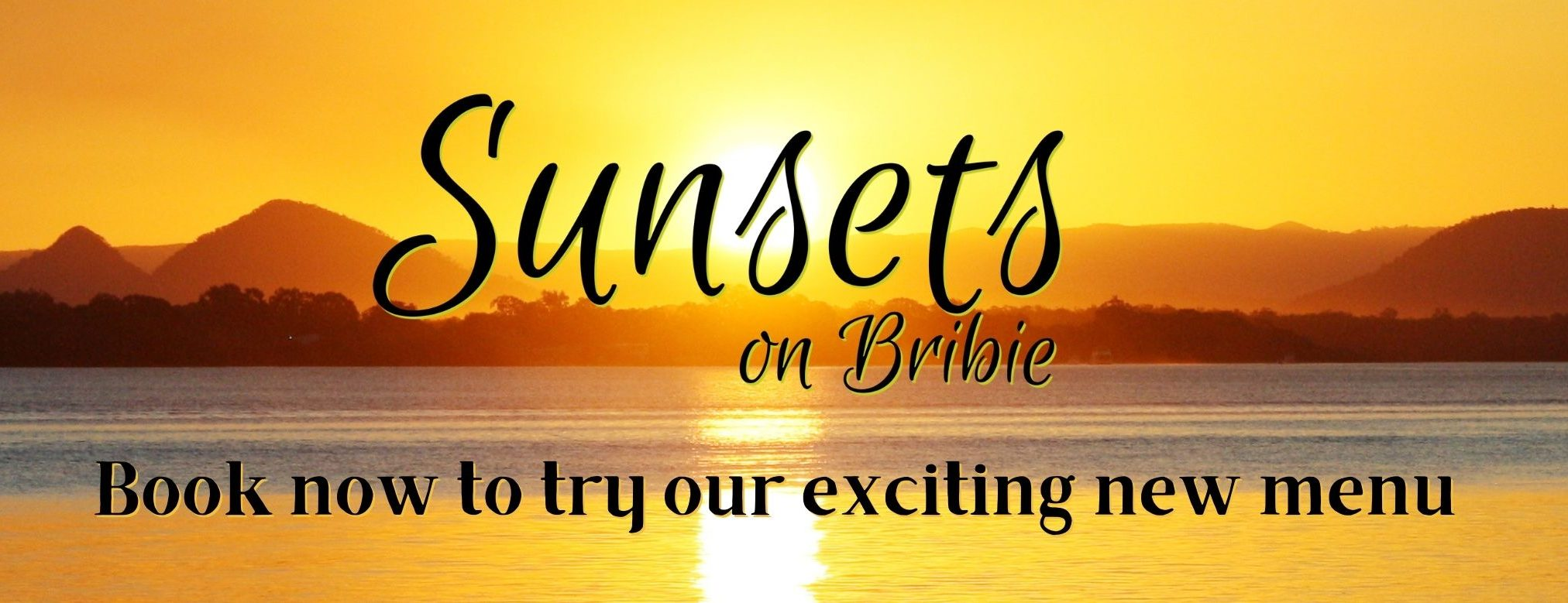 Try our new menu at Sunsets